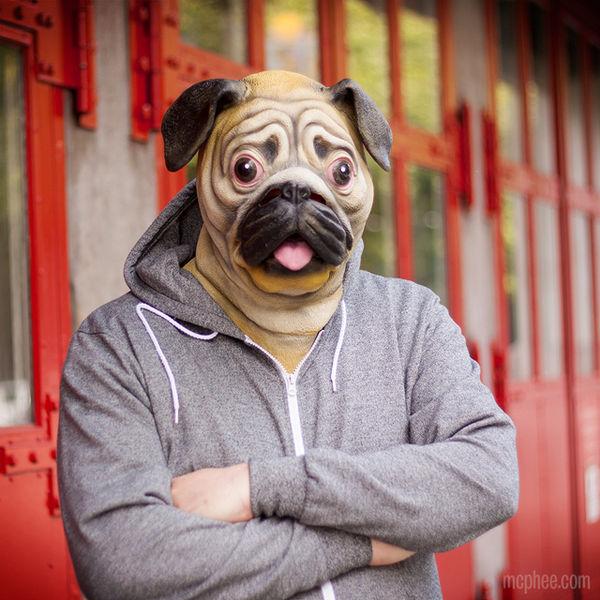 Hyper-Realistic Animal Costumes : Animal Mask