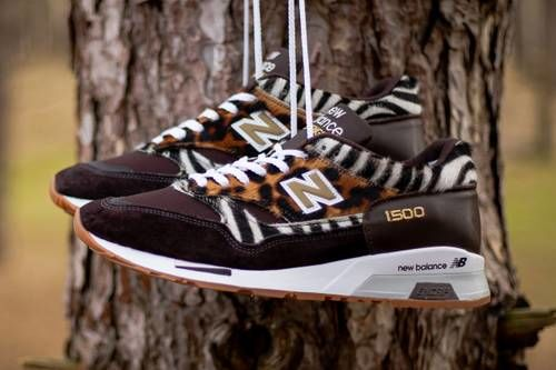 Animal-Printed Casual Sneakers