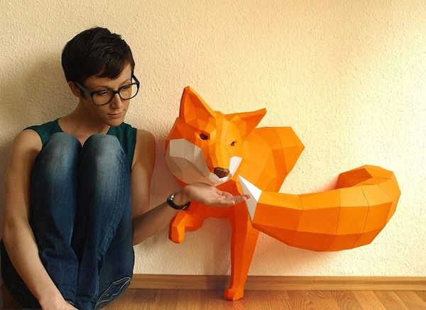 Animal Paper Sculptures