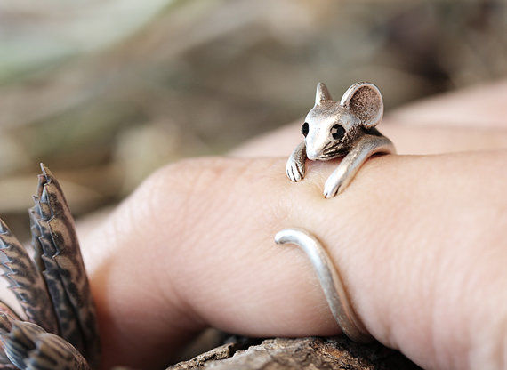 Curvy Rodent Rings