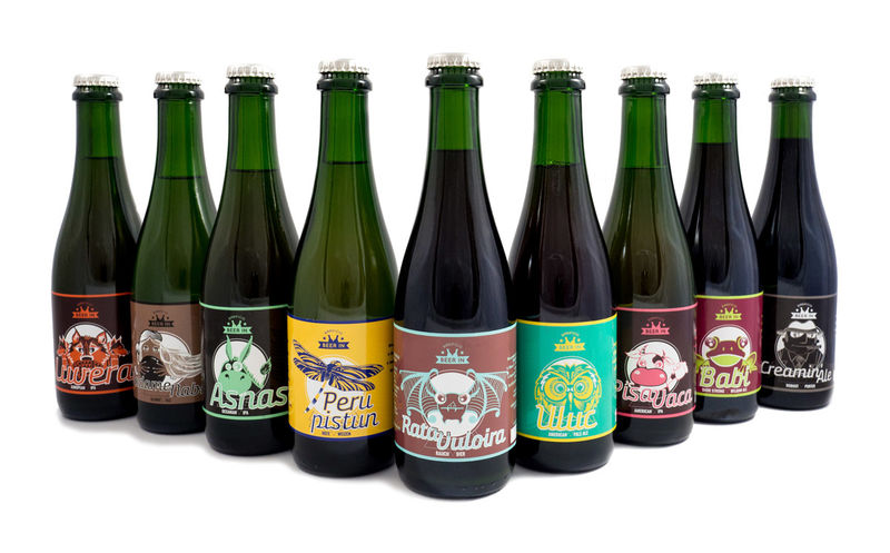 Animal-Themed Beer Labels