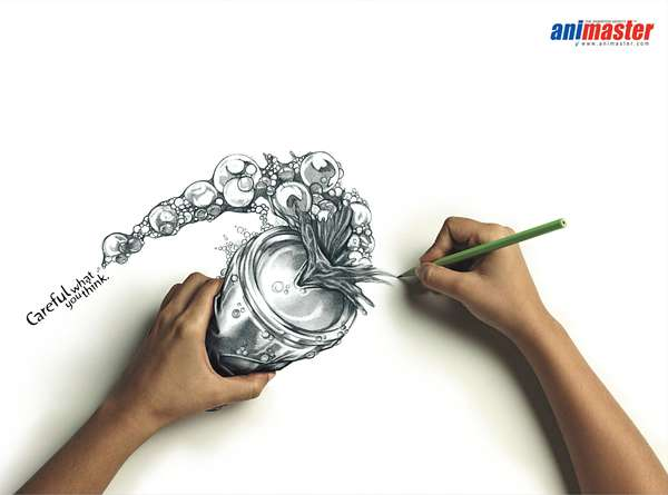 Creative Pencil Ads