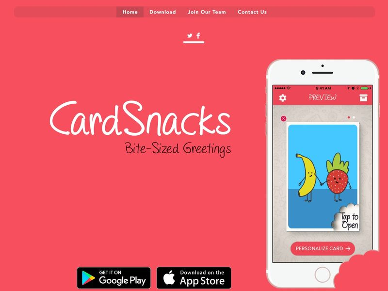 Customized Greeting Card Apps