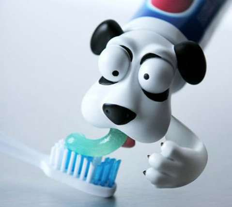 Animated Toothpaste Heads