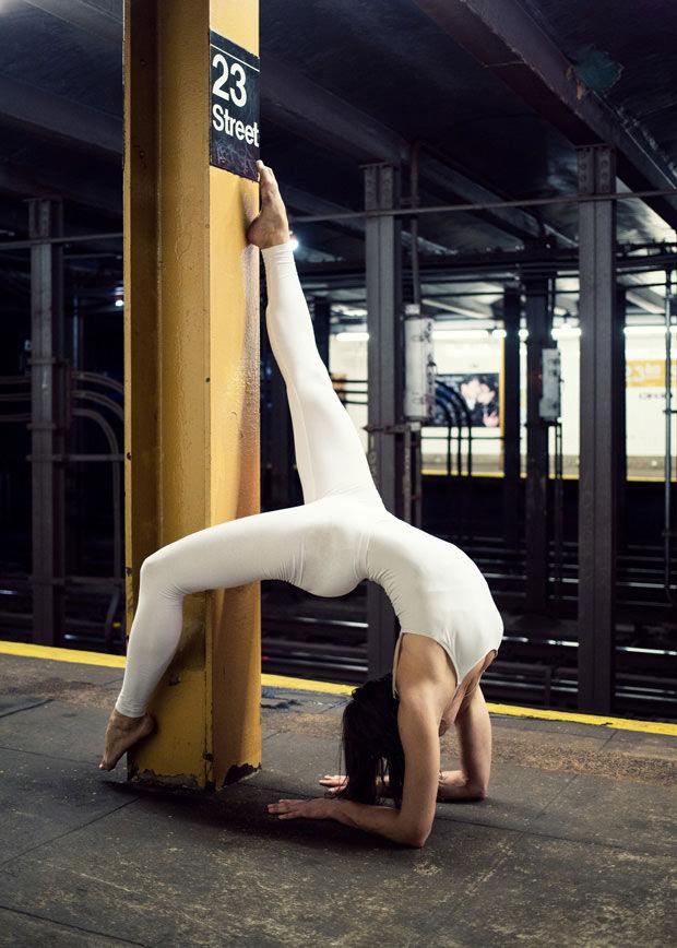 Urban Yoga Photography