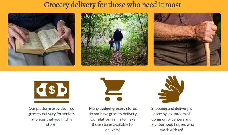 Food Delivery Volunteer Platforms