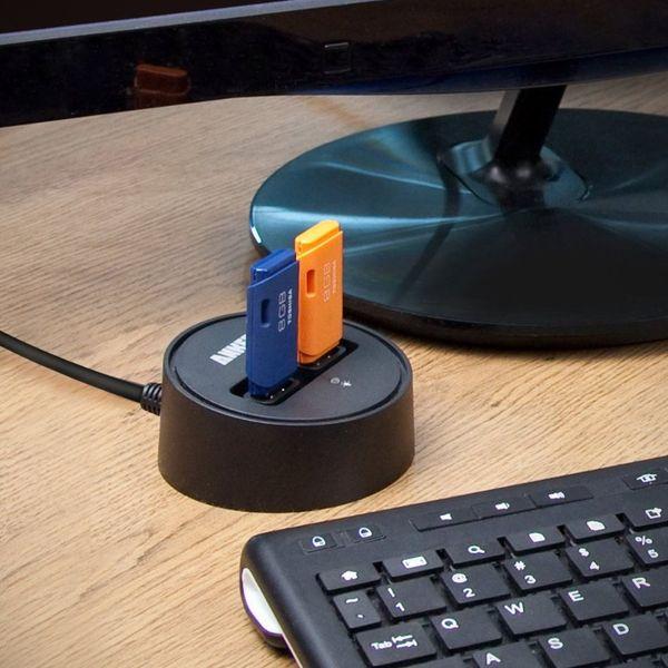 Speedy Circular USB Ports
