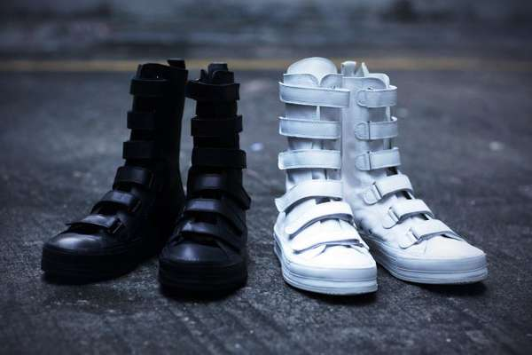 Velcro-Obsessed High-Tops