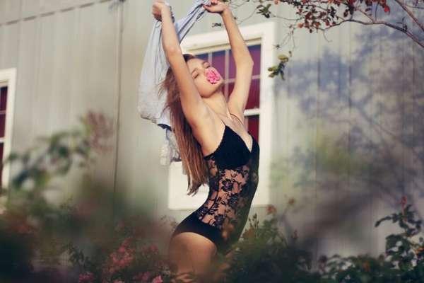 Uninhibited Fashion Photography