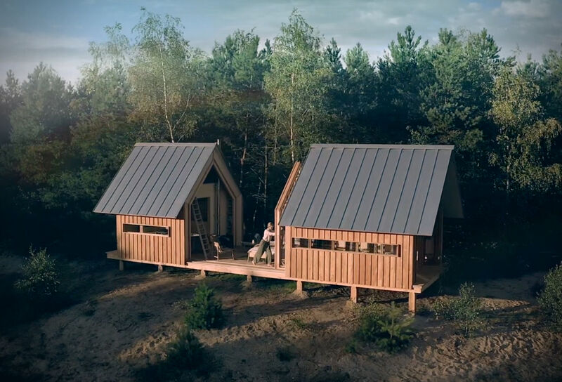 Adjustable Dynamic Wilderness Cabins