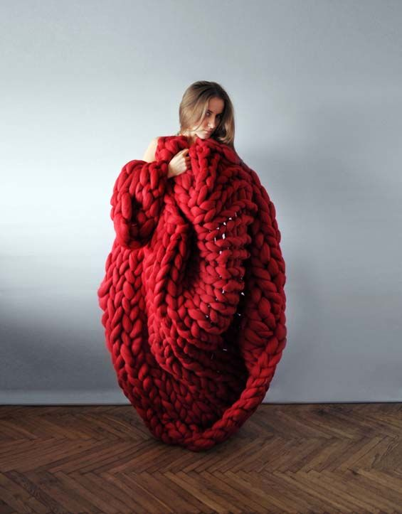 Sculptural Knitted Goods