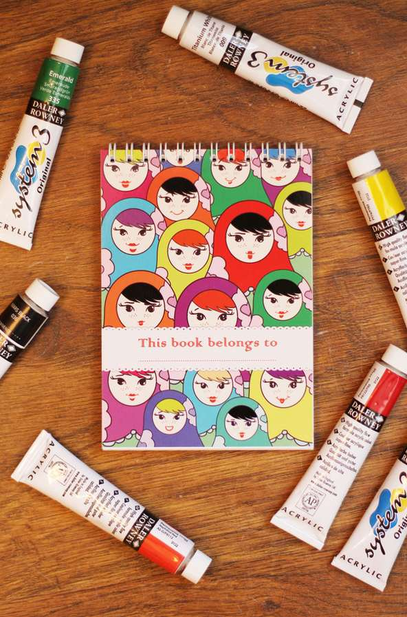 Marvelous Matryoshka-Inspired Notebooks