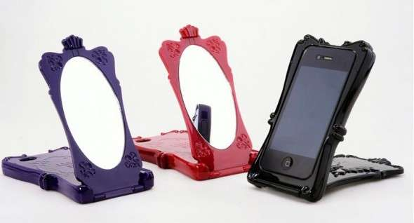Cosmetic Mirror Mobile Cases