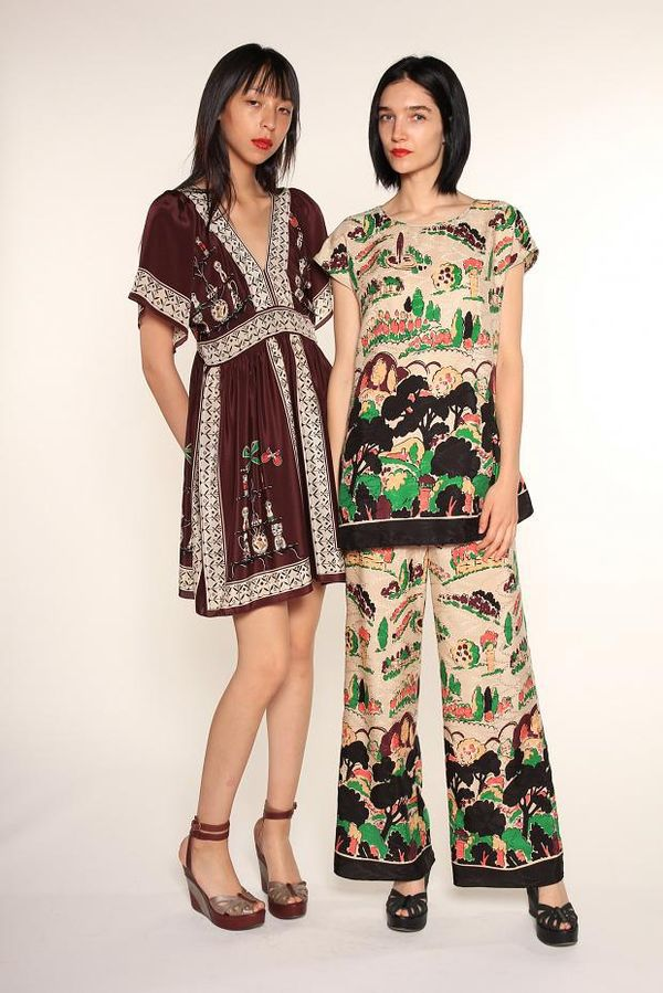 Charmingly Printed Fashion