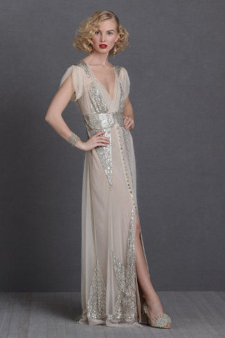 Gatsby-Inspired Bridal Gowns