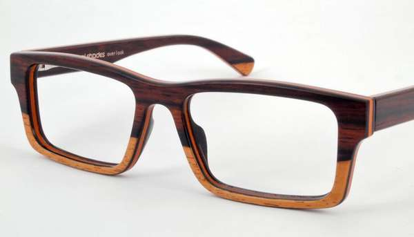 One-for-One Wooden Eyeglasses