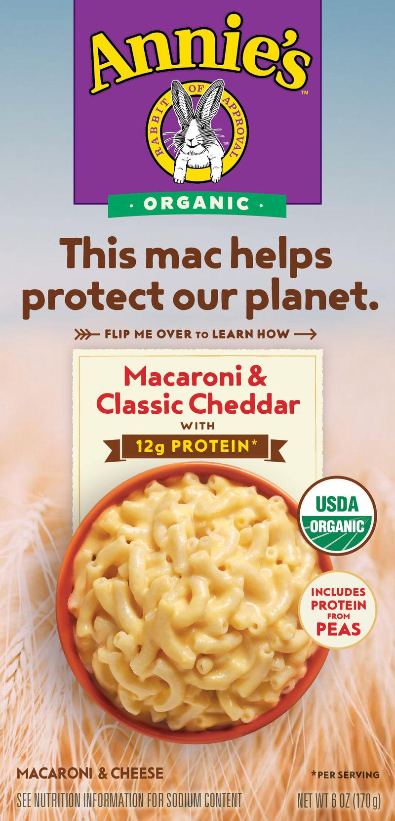 Planet-Friendly Mac & Cheese