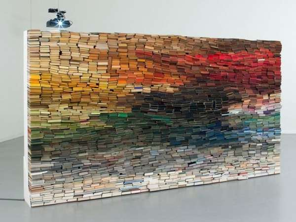 Chromatically Coordinated Literary Installations