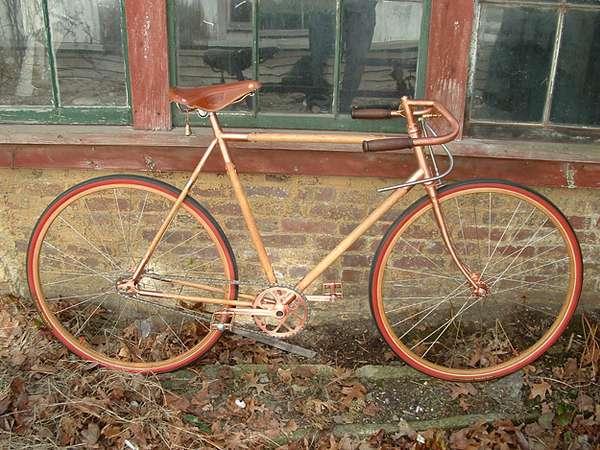 Copper-Covered Bikes