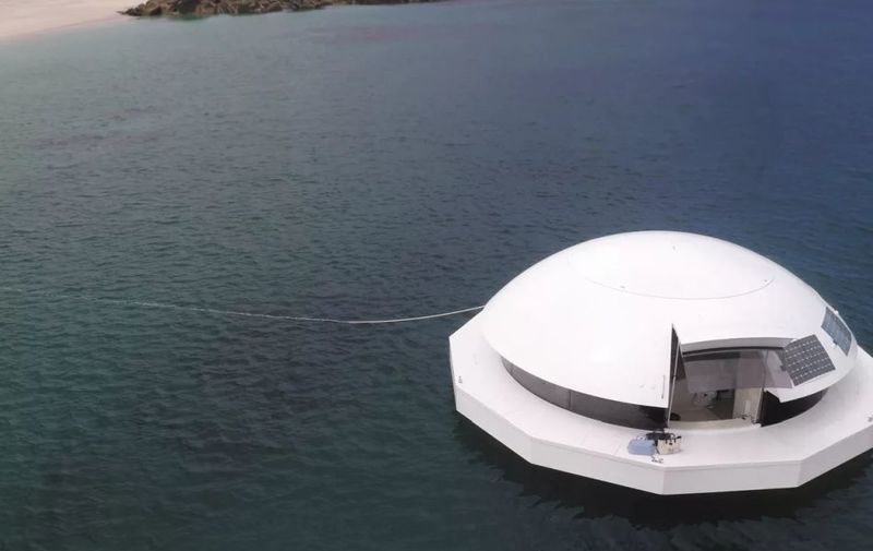 Floating Solar-Powered Apartments