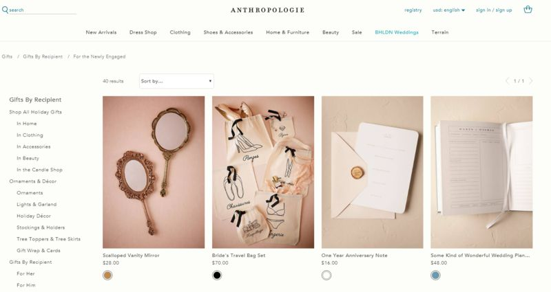 Curated Bridal Gift Ideas