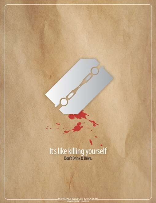 Suicidal Anti Drinking & Driving Ads