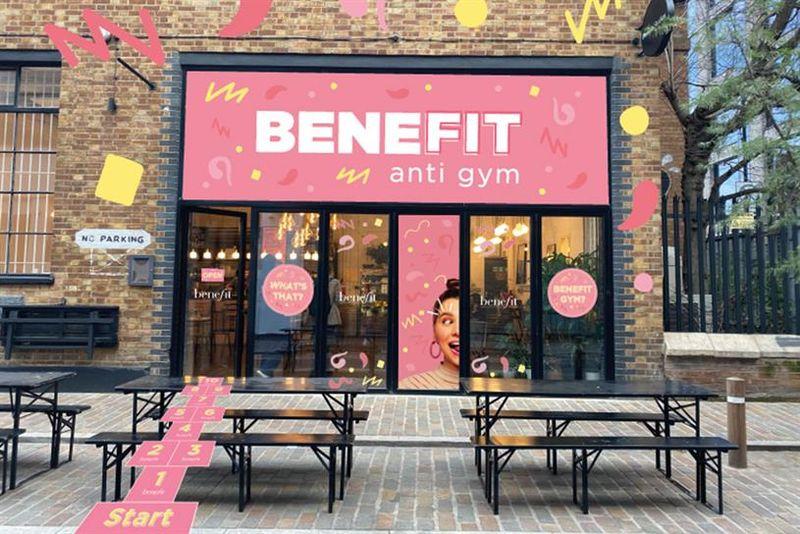 Gym-Themed Beauty Pop-Ups