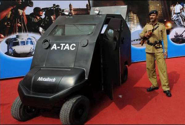 Indoor Armored Cars