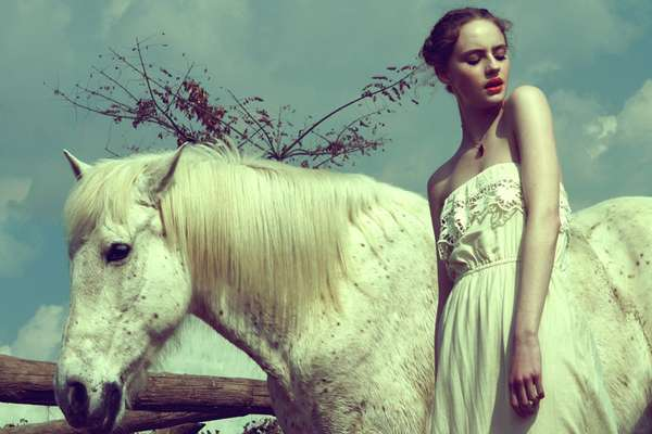 Ethereal Spring Editorials