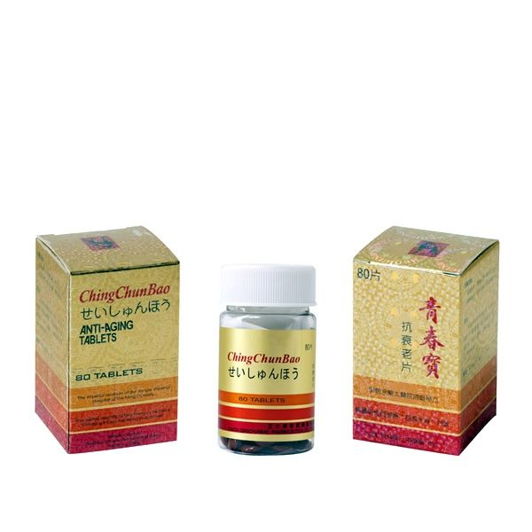 Herbal Anti-Aging Tablets