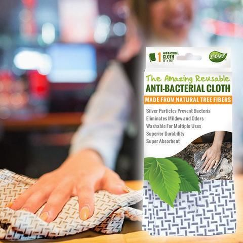 Reusable Antibacterial Cloths