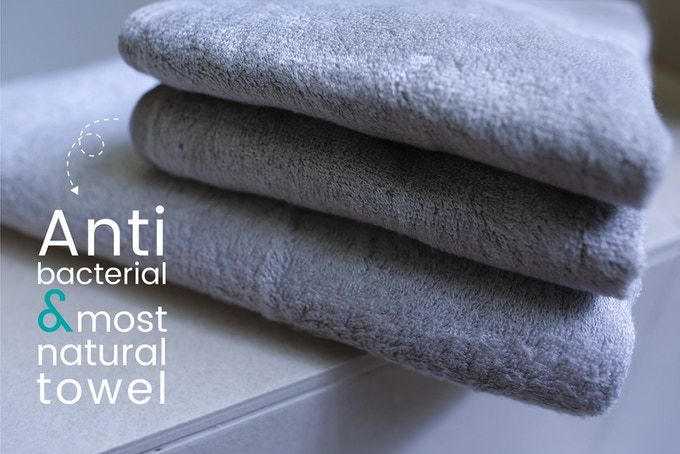 Naturally Antibacterial Towels