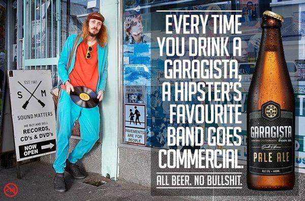 Hipster-Opposing Brew Branding