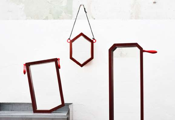 Quirky-Cornered Mirrors