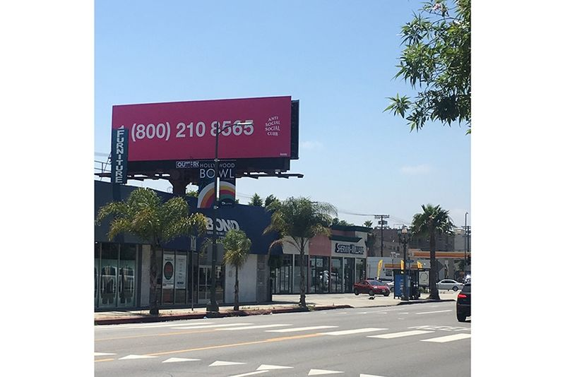 Secretive Pop-Up Billboards