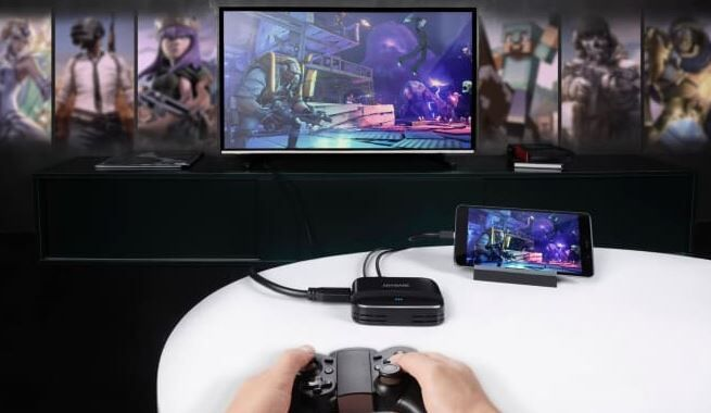 Smartphone-Powered Gaming Devices