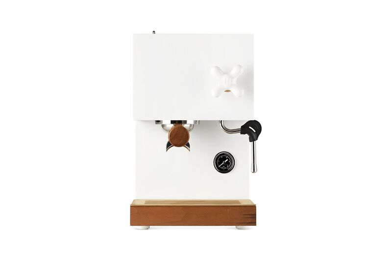 Wood-Accented Espresso Makers