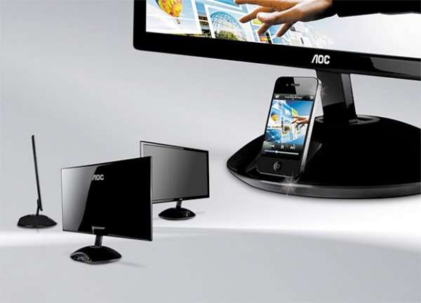 Smartphone-Charging Computer Monitors
