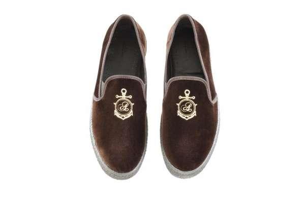 Posh Velour Footwear
