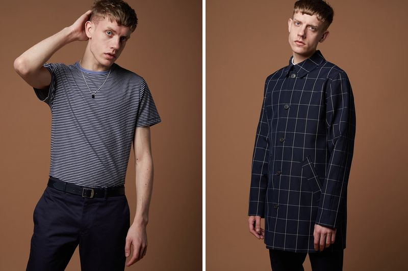 Pattern-Motif Collaborative Menswear
