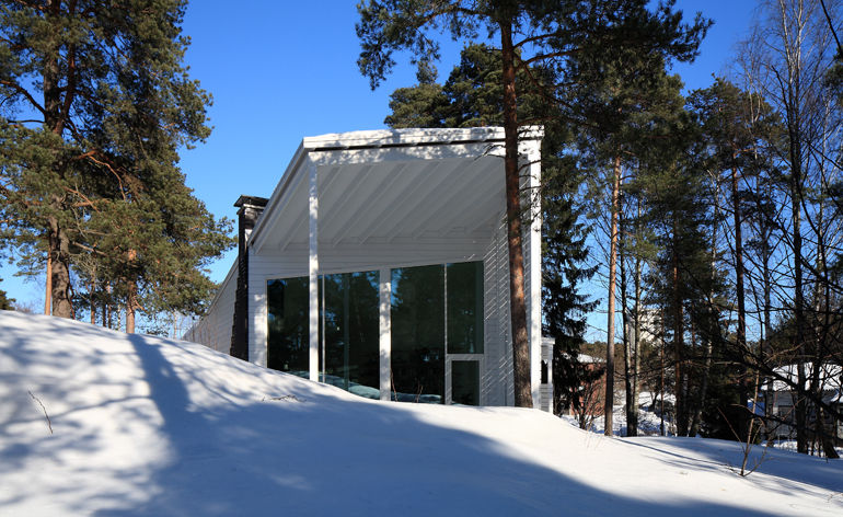 Contemporary Mountainside Residences