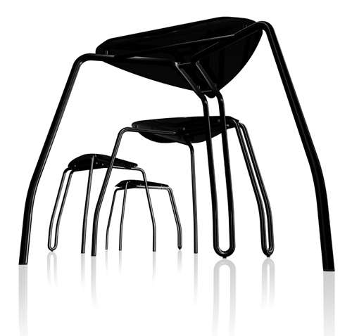 Stackable Spider Stools