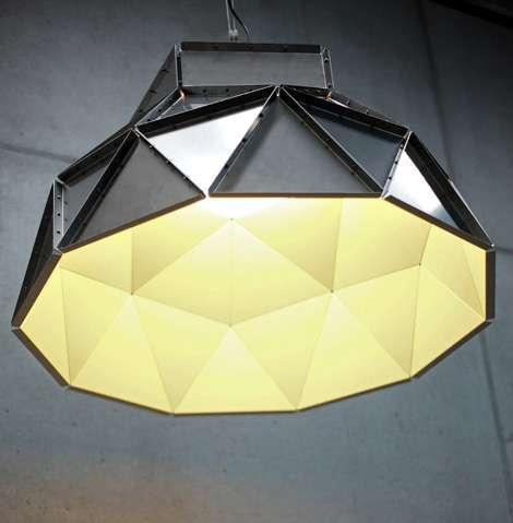 Geometric Light Fixtures & Geometric Light Fixtures : Apollo Ceiling Shade by Dark