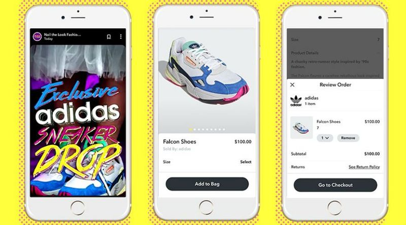 Ephemeral App Fashion Shows
