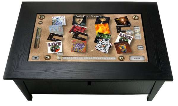 Coffee Table PC Surface Interface Computer