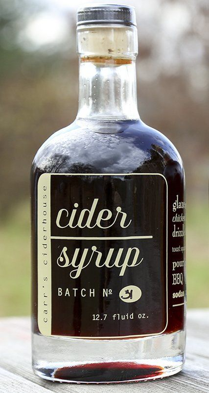 Apple Cider Syrups