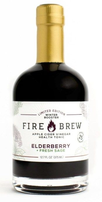 Elderberry-Sage Health Tonics