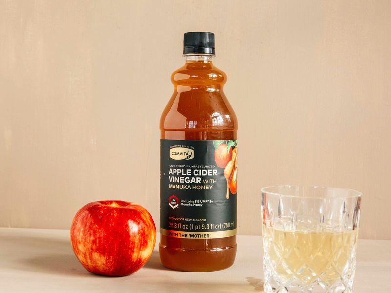 Honey-Infused Apple Cider Vinegars