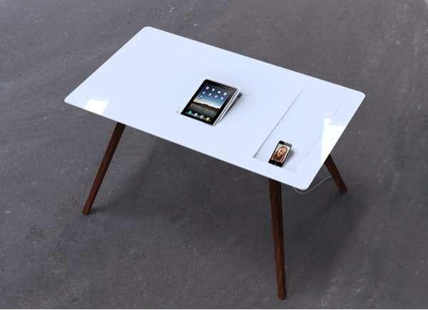 Tablet Charging Tabletops Apple Desk