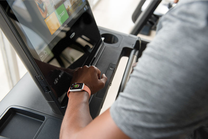 Smartwatch-Connected Gyms